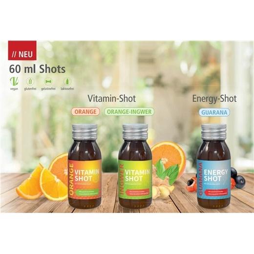 60 ml Vitamin oder Energy Shots
