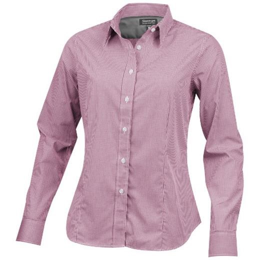Net long sleeve ladies shirt.