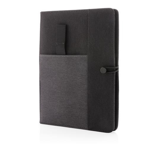 Kyoto A5 notebook cover, grey