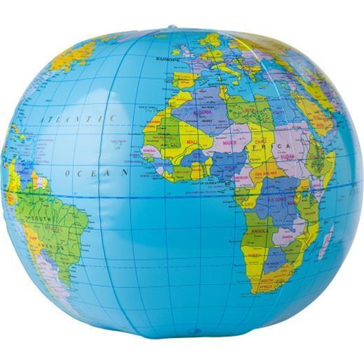 Aufblasbarer Wasserball 'Globus'