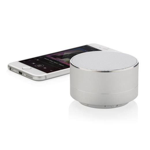 BBM wireless speaker, silver