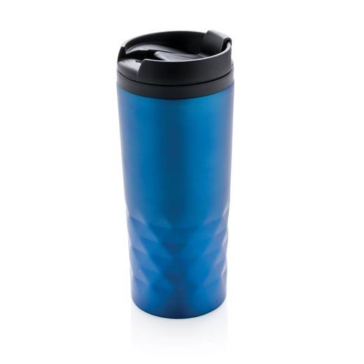 Geometric mug, black