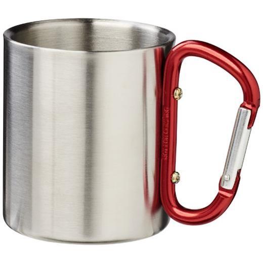 Alps 200 ml vacuum insulated mug with carabiner