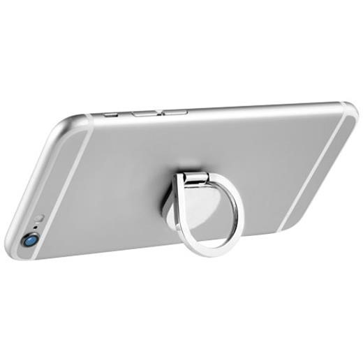 Aluminum ring phone holder