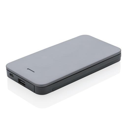 10.000 mAh MFi licensed powerbank, silver