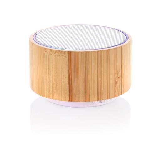 Bamboo wireless speaker, brown