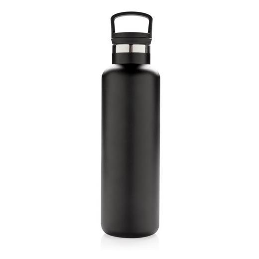 Vacuum insulated leak proof standard mouth bottle, black