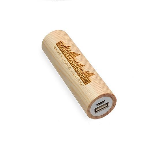 Drvena baterija 2600 mAh Q-Pack