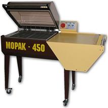 Poluautomatske pakirnice s haubom - MOPAK-450
