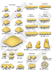Kalupi za oblikovanje tjestenine 6
