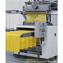 Proizvodnja duge tjestenine preko linearne glave extrudera