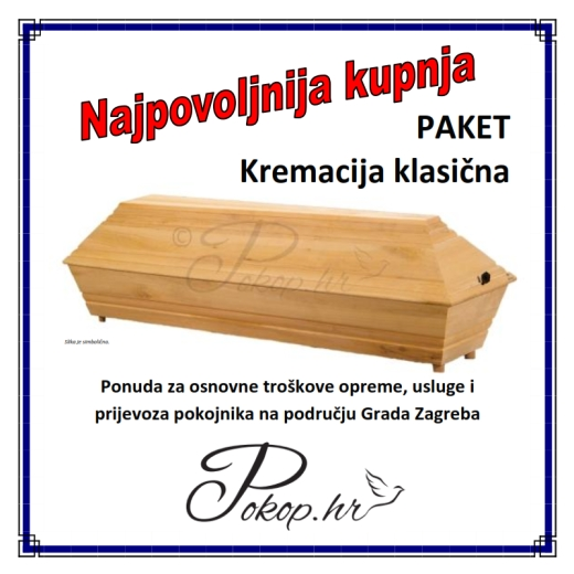 Paket - Kremacija klasična