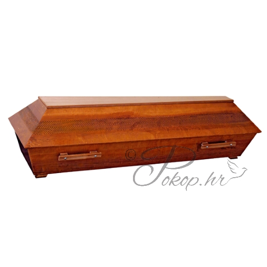 Coffin M01 - carved