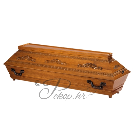 Coffin M90G - carved