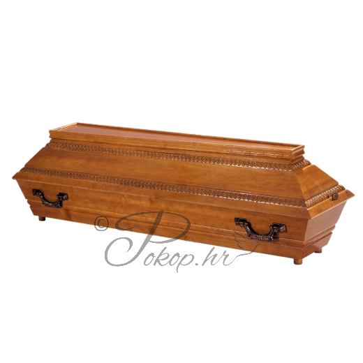 Coffin M80 - carved