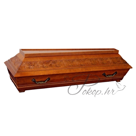 Coffin M05T - carved