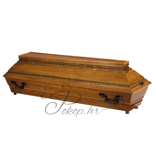 Coffin M81 - carved
