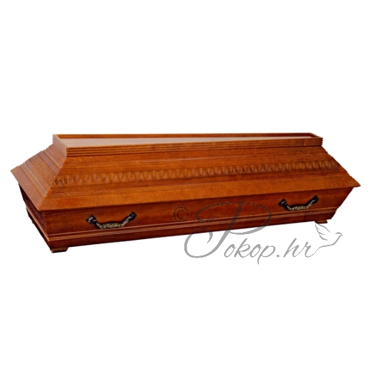 Coffin M08T - carved