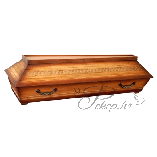 Coffin M08S - carved