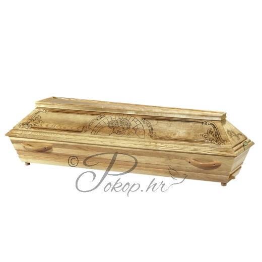 Coffin M155 oak
