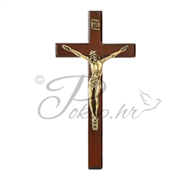 Decorative cross nr. 5 wooden