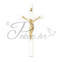 Križić ukrasni br. 3 bijeli
