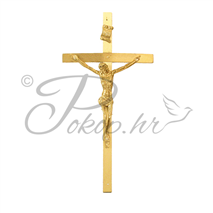 Decorative cross nr. 11 messing
