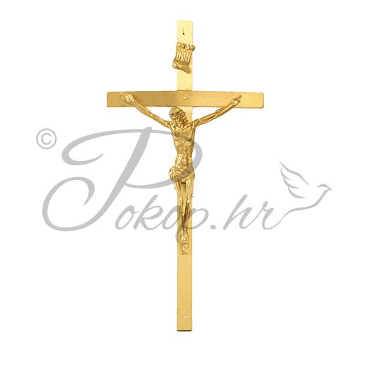 Križić ukrasni br. 11 mesing