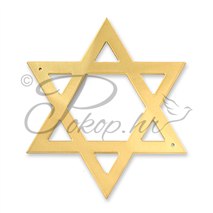Decoration for coffin Star of David