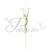 Križ za lijes alu. br. 5