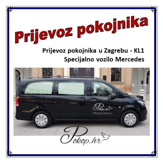 Prijevoz pokojnika ZGB - KL1