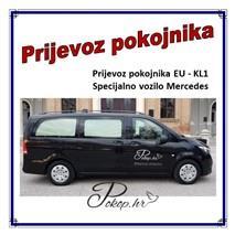Prijevoz pokojnika EU - KL1