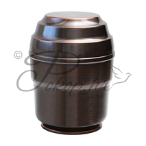 Urn copper - 102 on a stand
