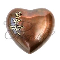 Spomen urna srce bakar