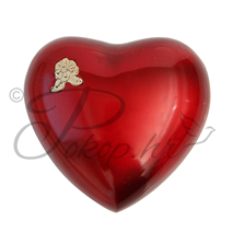 Spomen urna srce crveno