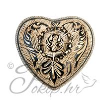 Spomen urna srce AC-06 grav