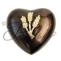 Spomen urna srce AC-09 žito
