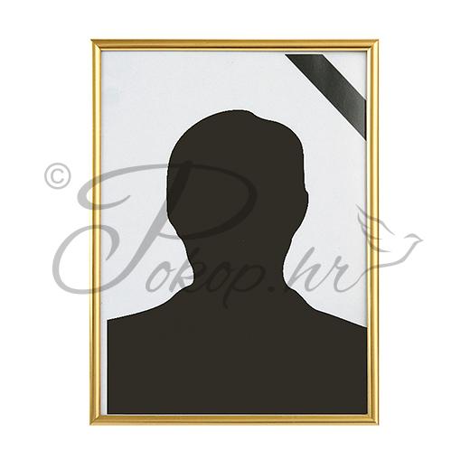 Okvir za sliku PVC 18x24 zlat
