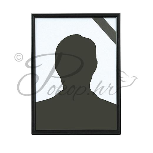 Okvir za sliku PVC 18x24 crni