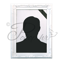 Picture frame PVC 20x30 white