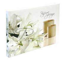 Memorial book white-lily